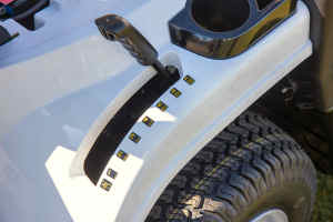Alpina lawn mowerheight adjuster view