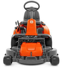 Husqvarna R214T lawnmower rear view