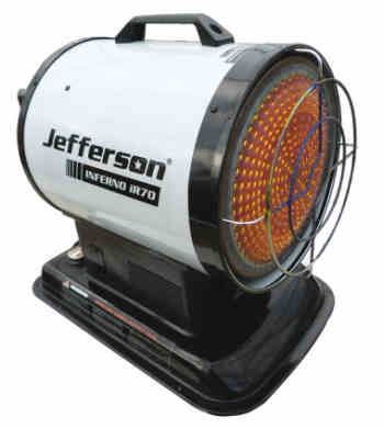 Jefferson IR70 heater