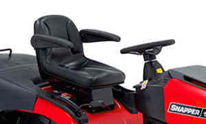 snapper lawnmower comfort seat with arm rests
