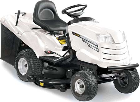 Alpina AT8102HCB ride on lawn mower for sale Ireland
